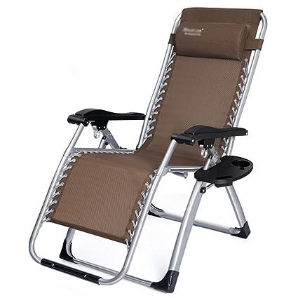 Silla plegable de la cubierta / silla plegable de Sun / silla reclinable / silla de la relajación / silla plegable de múltiples funciones (7 colores a elegir de) ( Color : F , Tamaño : # 2 )