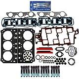 CNS EHG0040HBSI New Cylinder Head Gasket Set Head Bolt Kit RTV Gasket Silicone for GM V6 Engine 3.8L 3800 231 2nd Design VIN 2 K Buick Regal Chevy Impala Oldsmobile Pontiac Bonneville Grand Prix