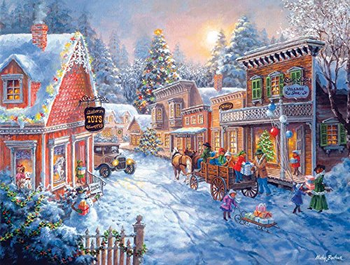 Toy Shop on Main Street - A 300-Piece Jigsaw Puzzle by Sunsout Inc.