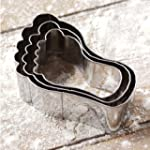 ProCook Feet Cookie Cutters Set of 3