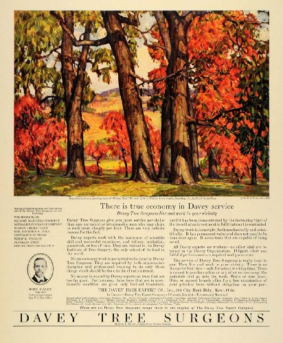 1931 Ad Frank Swift Chase Davey Tree Expert Sewickley - Original Print Ad front-1072425