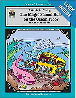 Amazoncom a guide for using the magic school bus on for Magic school bus ocean floor full episode