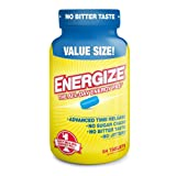 ENERGIZE America's #1 Selling All-Day Energy Pill - 84 Time Released Tablets (Tamaño: Pack of 1)