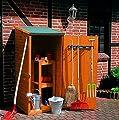 Holz-Geräteschrank klein Gerätehaus Schuppen Schrank von Promadino bei Gartenmöbel von Du und Dein Garten