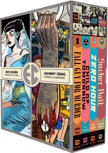 Ec Comics Four HC Slipcase 2 (The Ec Artists' Library)