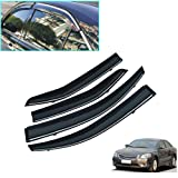 Rain Guards Sun Visor 2.0 MM Outside Mount 4pc For 2011-2015 Toyota Yaris 5 Door