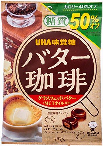 味覚糖 糖質50%オフ バター珈琲 81g×6袋