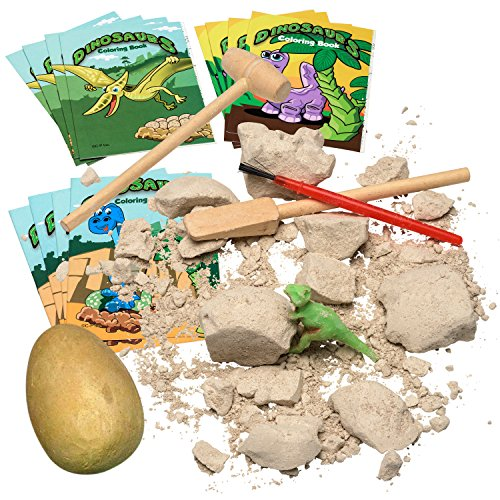 Prextex Dinosaur Excavation Kit