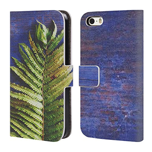 official-olivia-joy-stclaire-fern-tropical-leather-book-wallet-case-cover-for-apple-iphone-5-5s-se