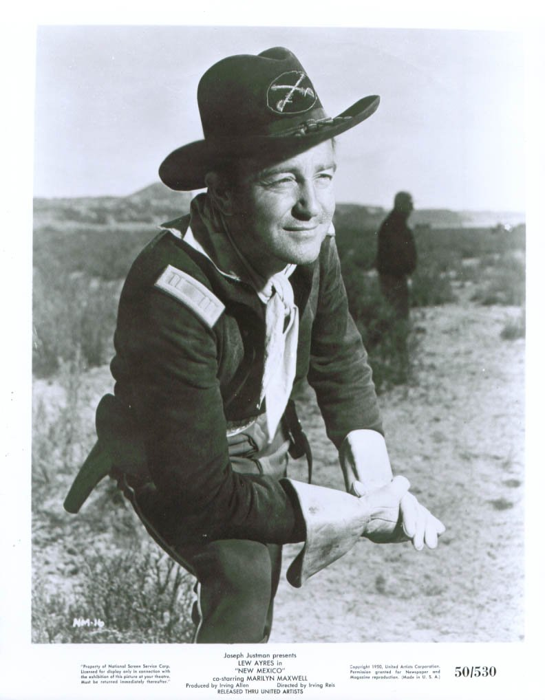 New Mexico Starring Lew Ayres