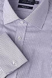Ultimate Non-Iron Pure Cotton Mini Check Shirt