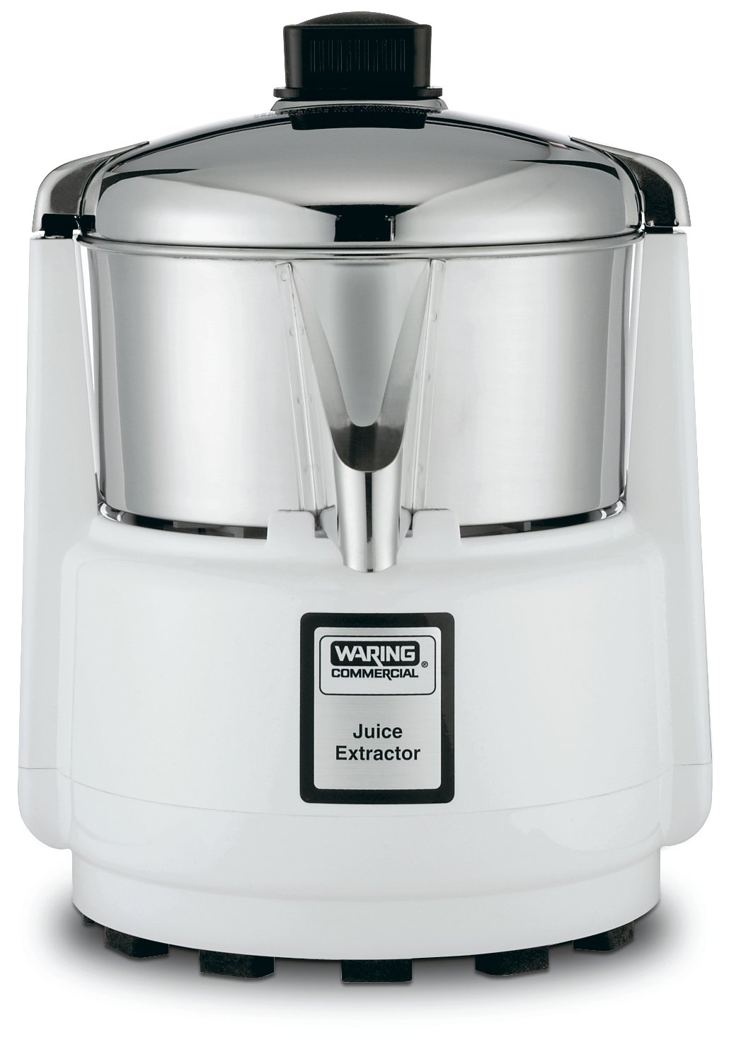 Waring Commercial 6001C Heavy-Duty Bar Juice Extractor with Compact Design