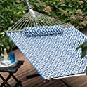 Island Bay 11 ft. Cotton Rope Double Hammock