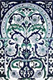 Decorative Ceramic Tiles: Hand Painted Mosaic Mural Home Kitchen Bath Shower Backsplash Pool Patio Wall Décor 18 Inch x 12 Inch - New