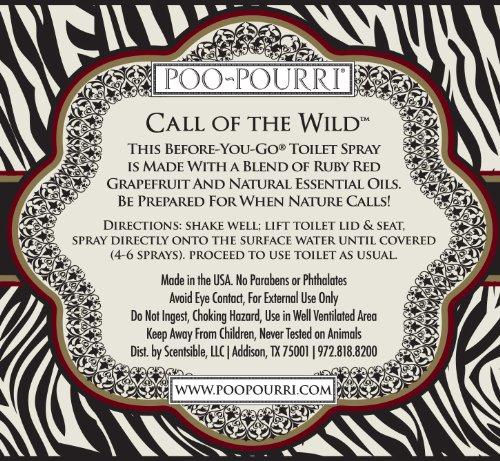Poo pourri before you go toilet spray 2 ounce bottle call - Poo pourri before you go bathroom spray ...