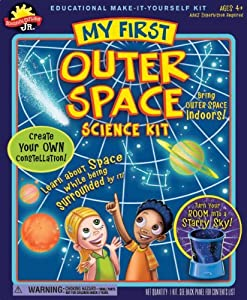 POOF-Slinky 0S6803003 Scientific Explorer Jr. My First Outer Space Science Kit, 4-Activites Children, Kids, Game, Child, Play