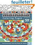 Coloring Books for Adults Mandala: Co...