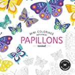 mini coloriage antistress papillons