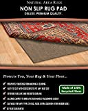NaturalAreaRug Premium Felt Rug Pad Earth Friendly Provides Extra Thick & is SAFE for all floors- Add Cushion, Comfort and Protection Sizes are available in 9' x 12' 100% Polyester Premium Felt Rug Pad