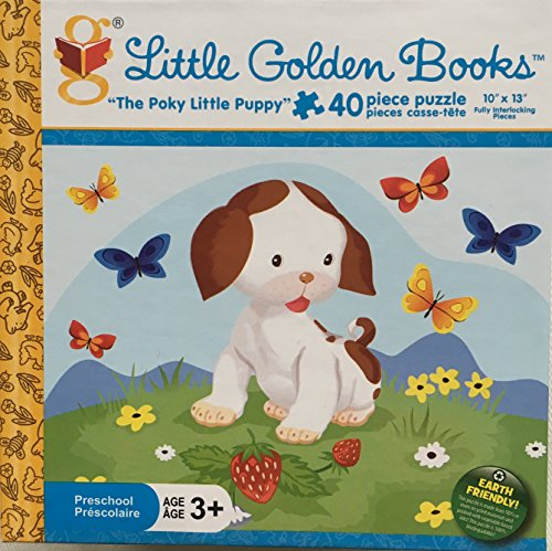 The Poky Little Puppy - Little Golden Books 40 Piece Jigsaw Puzzle