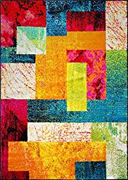 Home Dynamix Area Rugs: Splash Rug: 651-999 Multi-Color: 7\' 10\'\' x 10\' 2\'\' Rectangle