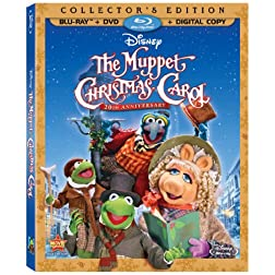 The Muppet Christmas Carol 20th Anniversary Edition Amazon Exclusive (Three-Disc Edition: BD/DVD + Digital Copy) [Blu-ray]