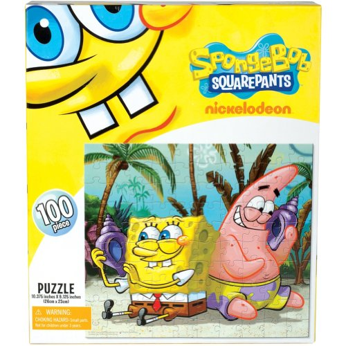 Spongebob Squarepants - Shell Listening 100 Piece Puzzle - 1