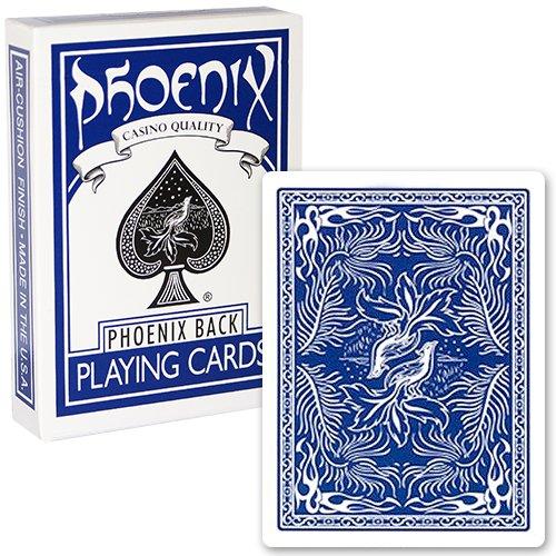 Mazzo di carte Phoenix - Blu - Mazzi di carte da gioco - Giochi di Prestigio e magia