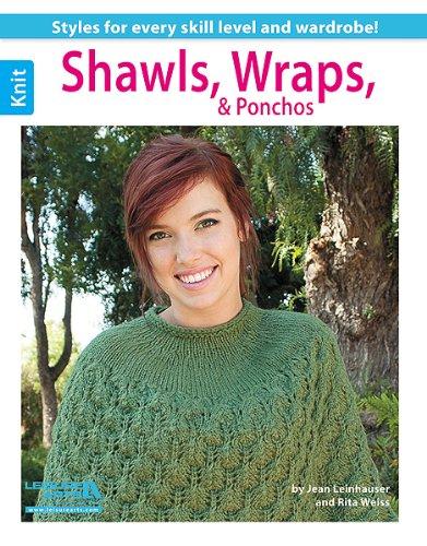 Shawls, Wraps, & Ponchos (Leisure Arts Knit)