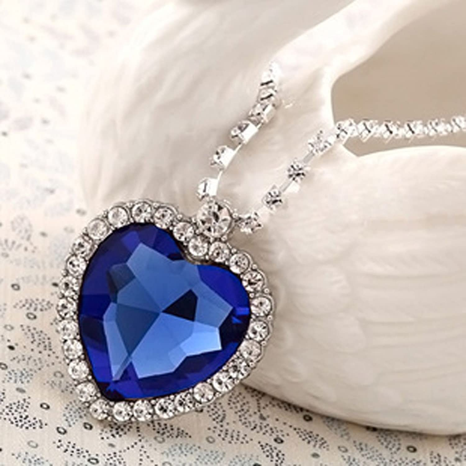 Blue Diamond Jewellery Lily Jewellery Royal Blue
