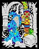 Wizard Lantern - 16x20 Fuzzy Velvet Poster