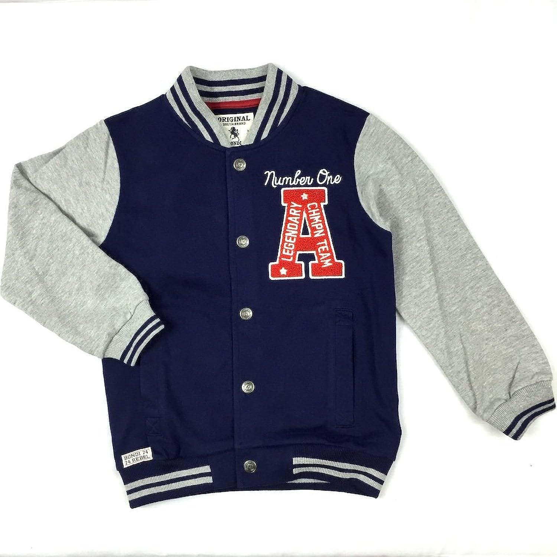 BONDI College Blouson, Jungen Übergangsjacke, REBEL 30057, Gr. 116, Navy-Blue jetzt kaufen