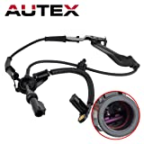 AUTEX 1pc Front Right ABS Wheel Speed Sensor ALS127 YL8Z2C204AB 19236186 Compatible with Ford Escape 2001 2002 2003 2004 2005 2006 2007 08/Mazda Tribute 2001-2006 2008-2009/Mercury Mariner 2005-2008