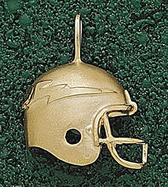 Air Force Academy Falcons 3-D Falcons Helmet Pendant - 14KT Gold Jewelry by Logo Art