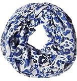 Street One Animalprint-Loop Nina I, Blau (print powder blue)