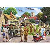 Gibsons Preparations For D Day Jigsaw Puzzle 1000 Pieces