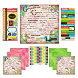 Scrapbook Customs Themed Paper and Stickers Scrapbook Kit, Grand Cayman Paradise