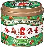 金鳥の渦巻 森の香り  缶 30巻