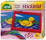 Lena 42602 - Stickbild Ente hergestellt von LENA