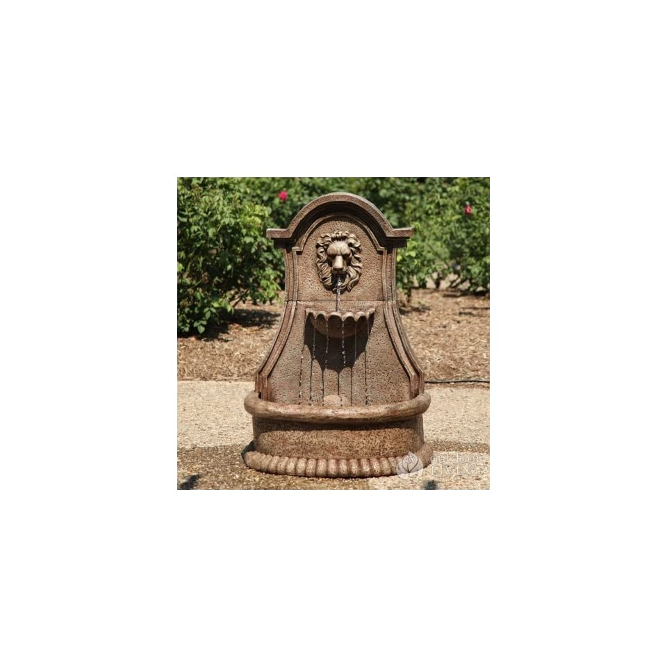Smart Garden 46201 Lucerne Lions Head Electric Outdoor Fountain