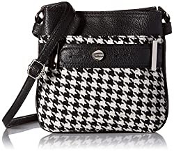 Rosetti Cash and Carry Abigail Cross Body Bag, Gridlock, One Size