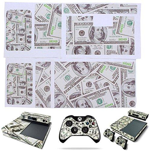pink-lizard-noi-modello-dollaro-adesivo-pelle-copertura-completa-per-xbox-una-console-controller-dec