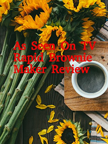 Review: As Seen On TV Rapid Brownie Maker Review on Amazon Prime Video UK