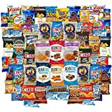 Ultimate Snacks Chips Cookies Candy Variety Assortment Pack Includes Simply 7 Cheez It Goldfish Beanitos Oreos Popcorners & More Includes Recipes By Custom Varietea Bulk Sampler 65 Snack Size Packs