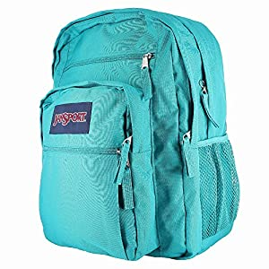 JanSport Big Student Backpack Spanish Teal - JanSp
