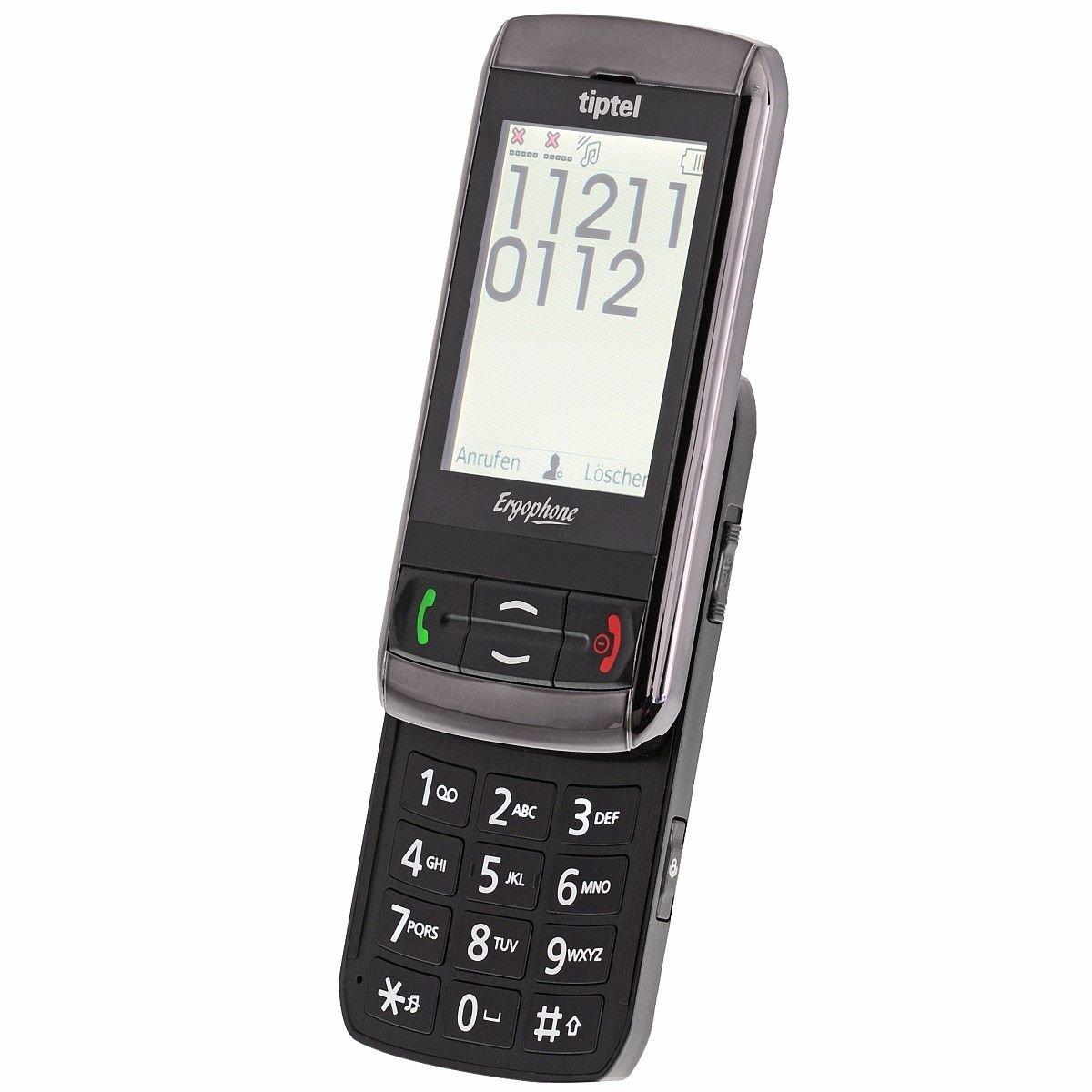 T�l�phone GSM TIPTEL ERGOPHONE 6060 NOIR
