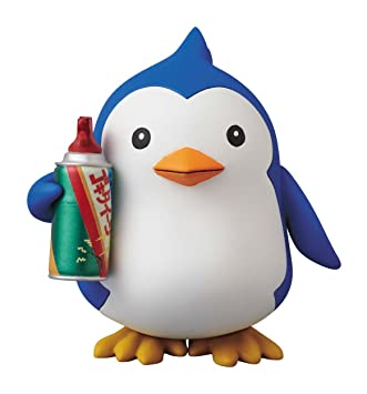 "Mawaru Penguindrum - Penguin 2-gou - Vinyl Collectible Dolls - 190 ""Medicom Toy"" - Taille : 100mm"