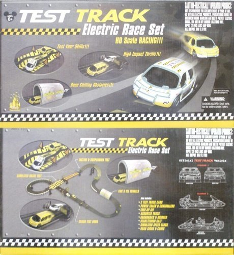 1999 Life-Like Disney Test Track Slot Car Race Set Rare