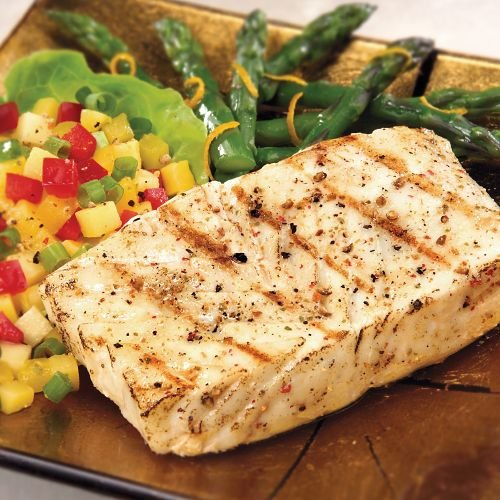 Omaha Steaks 6 (6 oz.) Halibut Fillets