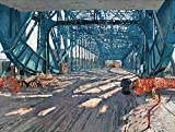 Vitalwalls Structure of the Bridge Painting (Static-446-F-30, Canvas Print, 30 cm x 22.6 cm)